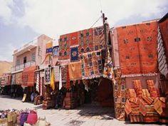 Marrakesh Kilim shop