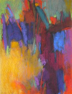 Sacred Journey  by Debora Stewart | $1,050 | pastel artwork | 24' h x 18' w
