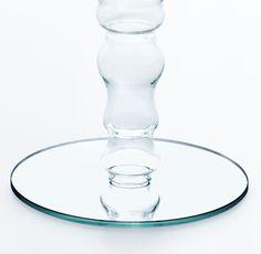 soffio glass Side Table miniforms