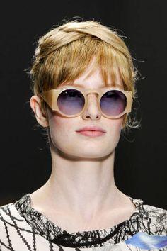 Mod sunglasses at Cacharel - Spring 2013