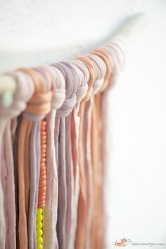 What to do with fabric yarn
