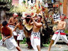Balinese Man of Mystical