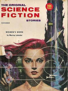Vintage science fiction cover. I wish I had this as a poster