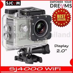เลือกความเป็นตัวคุณ<SP>SJCAM SJ4000 Wi-Fi 12MP Model 2016เมนูภาษาไทย(Silver)++SJCAM SJ4000 Wi-Fi 12MP Model 2016เมนูภาษาไทย(Silver) (6 รีวิว) Sport Camera 12 Megapixel CMOS Sensor HD wide-angle lens 170° WiFi Function 1080FHD 1982x1080 30fps New Waterproof Case 2,250 บาท -29% 3 ...++