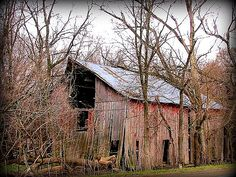 This is one of a cluster of four barns at a former farmstead in the  floodplain of the Kansas River west of Eudora, Kansas. Although over a  mile and a half from the river, this area experienced several major  floods, the last one occurring in 1951