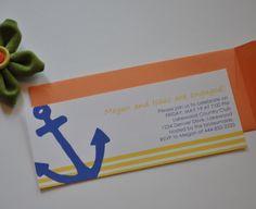 Sea Anchor Card Printable Digital DIY Fully by lanyapstudios. $15.00, via Etsy.