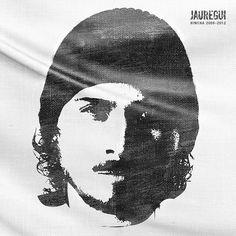 """Trapo"" Portada del álbum ""Hincha 2006-2012"" de Jáuregui."