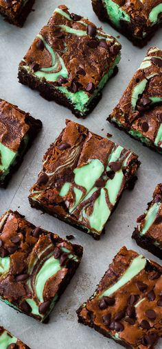 Mint chocolate cheesecake brownies are the ultimate decadent treat! These are always a favorite recipe on sallysbakingaddiction.com