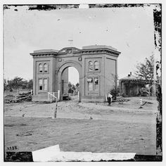 The Cemetery Gatehouse - Gettysburg, PA, July 1863