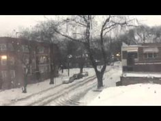 Liked on YouTube: Snow Storm In Chicago On Monday
