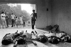 EL SALVADOR. SAN SALVADOR. 1981. Death Squad victims dumped at a cemetery. Salvadoran Civil War, Magnum Photos, Cemetery, San, El Salvador