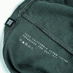 The Perimeter : Cotton by Mission Workshop - Weatherproof Bags & Technical Apparel Label Design, Design Packaging, Package Design, Design Design, Graphic Design, Junk Food Clothing, Clothing Labels, Coffee Packaging, Bottle Packaging