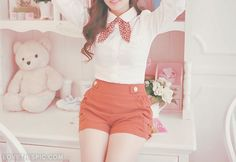 Pretty outfit fashion girly photography pictures photos shorts classy outfit photography ideas photography idea images
