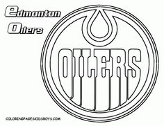 Nhl Team Coloring Pages