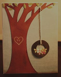 Paper, Scissors, Ink.: Cards/ free tree trunk file