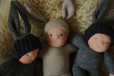 recycled sweater dolls?