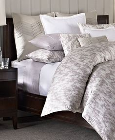 Barbara Barry Bedding, Cascade Collection - Bedding Collections - Bed & Bath - Macy's