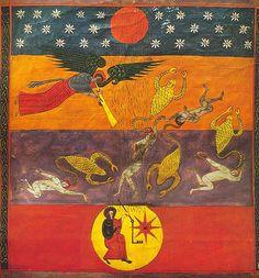 Image of the Apocalypse from Beatus de Facundus (or Beatus de León), dating to 1047