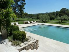 12 SUMMER-WORTHY POOLSCAPES - # 2 A South of France oasis at Villa Agelica.