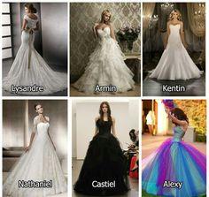 To vendo que eu vou ter que comprar uns seis vestidos pro meu casamento