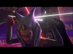 ★ Ahsoka Tano VS Darth Vader and Ahsoka's Death 1080p HD - Star Wars Reb...