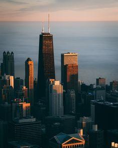 Los Angeles At Night, Modern Skyscrapers, Brooklyn Bridge Park, Chicago Usa, High Angle Shot, San Francisco City, Morning View, Clear Blue Sky, Manhattan New York