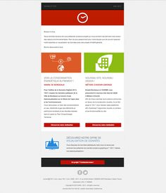 Newsletter design, flat as can be