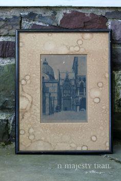 Ornate European Castle Artwork. Vintage. by NorthMajestyTrail
