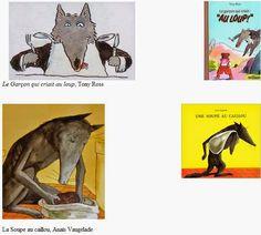 Jeux à partir d'albums sur les loups