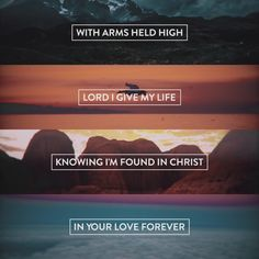 Hillsong church God jesus love on the line prayer lyrics video album ocean heaven river wild