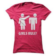 Funny Girls Rule T Shirt T Shirt, Hoodie, Sweatshirt