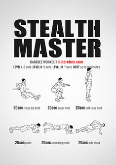 Stealth Master Workout | Posted By: AdvancedWeightLossTips.com