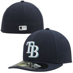 Men s Tampa Bay Rays New Era Navy Authentic Collection Low Profile Home  59FIFTY Fitted Hat Baseball 7c33990a8227