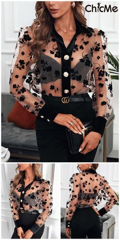 Chic Outfits, Summer Outfits, Fashion Outfits, Fashion Trends, Motif Floral, Tomboy Fashion, Lingerie Set, Mannequin, Dress To Impress