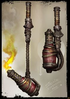 VE3D Image for Gears of War 3 (Xbox 360) - Weapon Concept Art
