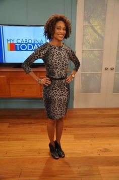 Valonda Calloway On TV is wearing The Limited from Crabtree Valley Mall.