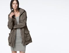 LIGHTWEIGHT UTILITY JACKET - WOMEN - James Perse