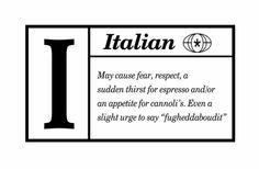 Definition of #Italian!