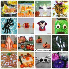 100+ Halloween Activities for Kids: Kid's Co-op ~ Reading Confetti