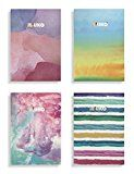 Miliko A5 Watercolor Series Softcover Notebooks/Journals/Diary Set-4 Unique designed Notebook Per Pack Product: Miliko® Watercolor Series Softcover Notebooks/Journals/Diary Set-4 Unique https://thehomeofficesupplies.com/miliko-a5-watercolor-series-softcover-notebooksjournalsdiary-set-4-unique-designed-notebook-per-pack/