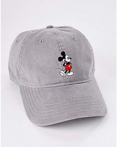 7e9c44ff6a4 Mickey Mouse Dad Hat - Spencer s