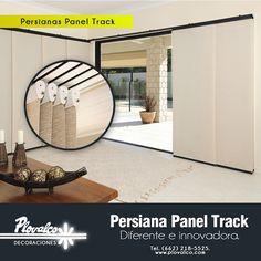 Nuestras persianas Panel Track son ideales para recubrimiento de ventanas con puertas corredizas. La transparencia de sus telas proporciona luz y elegancia en grandes espacios. Te cotizamos sin compromiso al 218-5525 y en nuestro inbox. - http://ift.tt/1QIZuz0