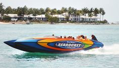 High-Speed Powerboat Tour (Key West, Florida)