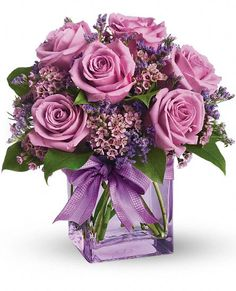 Morning Melody Flowers mauve