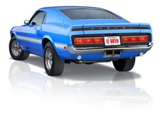 1969 Shelby rear end. Enter to win with #promo code: TP2014 and get bonus tickets at www.winthemustangs.com