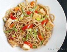Meatless Monday Green Bean Ginger Spaghetti Stir Fry - Meatless Monday