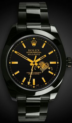 Exquisite-Rolex Mens watch Oyster perpetual.Titan Black #watch #rolex #black #rolexwatches #mensrolexwatches
