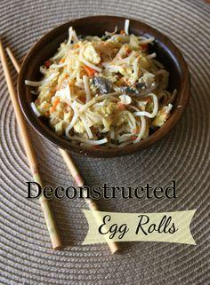 deconstructed eggrolls