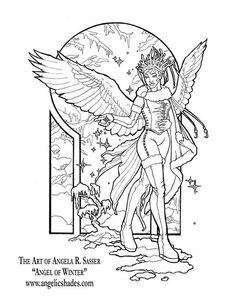 ангел Зима