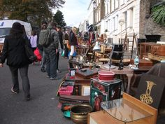 Klassiker in Notting Hill: Portobello Market London